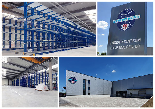 Hosokawa Alpine's new logistics centre